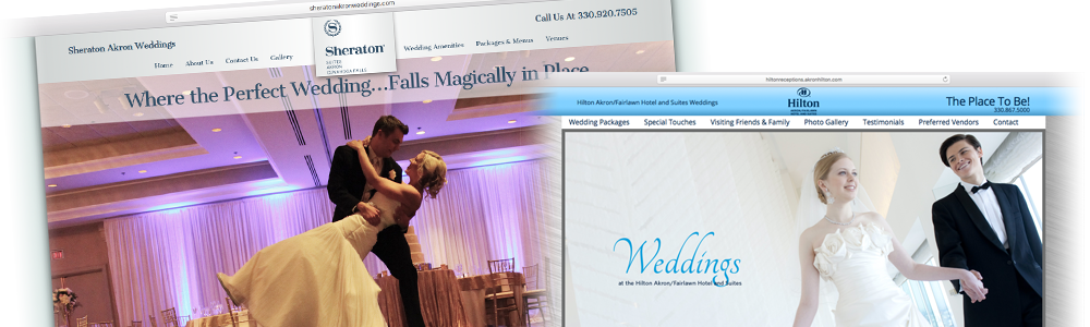 RDA wedding sites